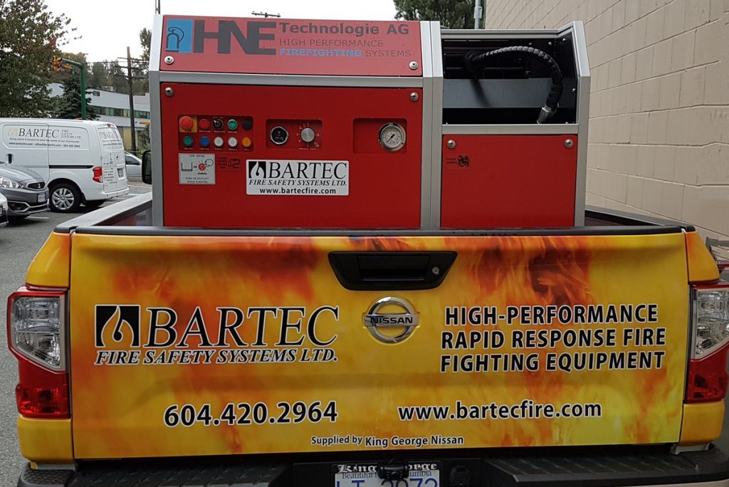 Mobile Foam Fire Fighting Equipment