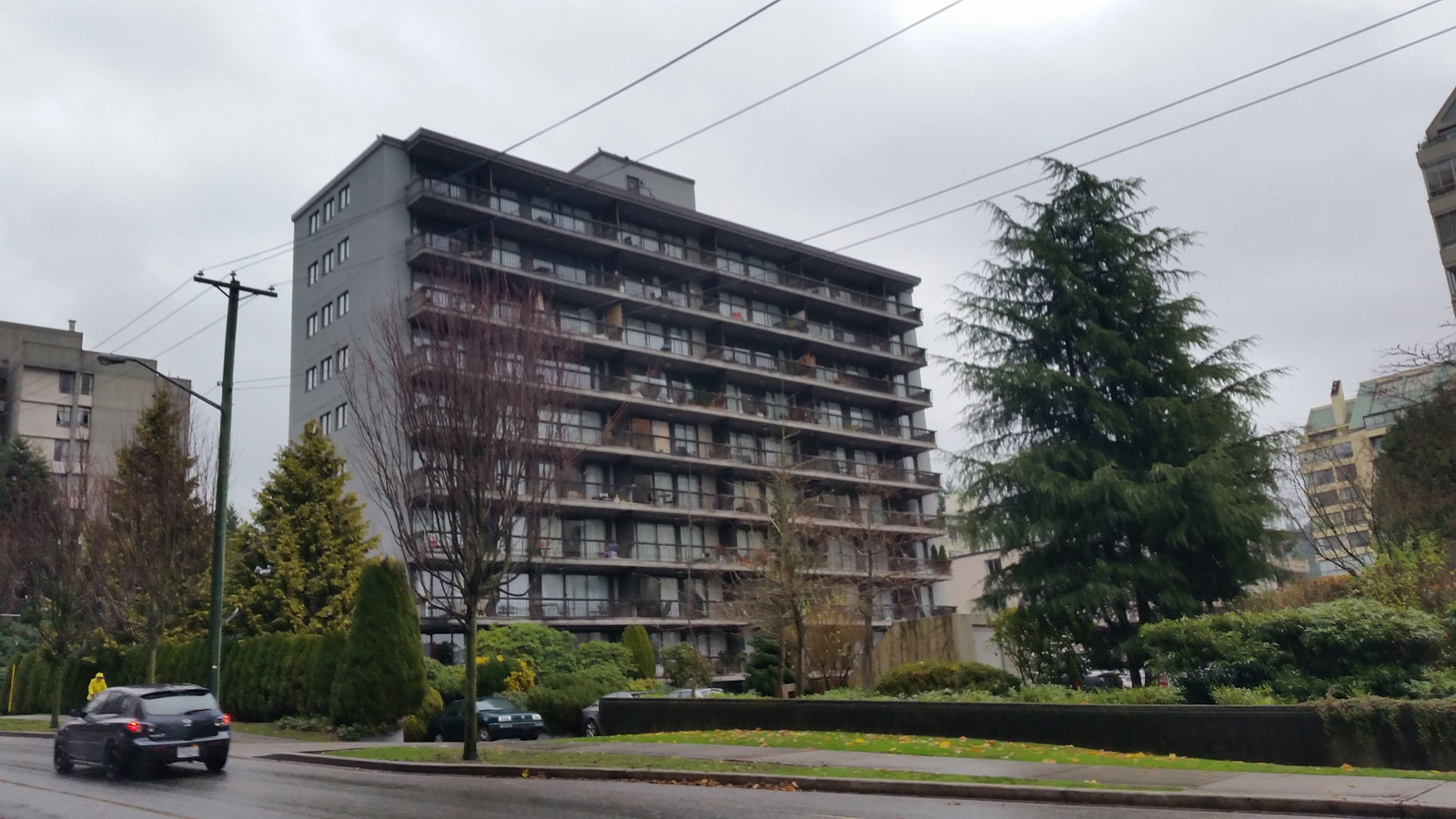 Pacificana – Residential high-rise in West Vancouver